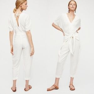 NWT Free People Shining Sun One-Piece Jumpsuit XS